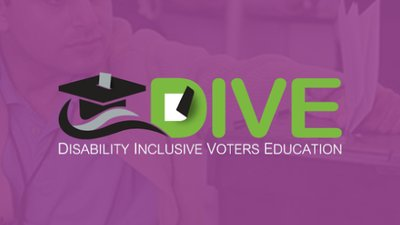 DIVE app displays information for voters with disabilities.