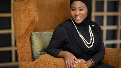 Hauwa Ojeif, Founder of She Writes Women in Nigeria.