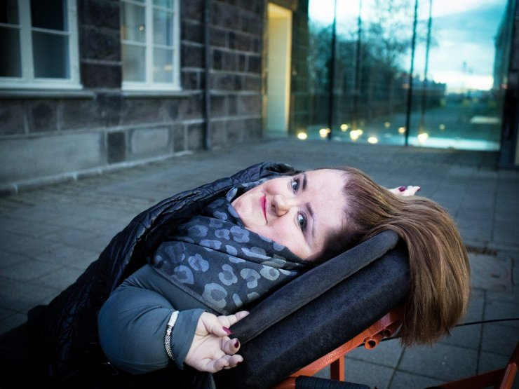Headshot photo of Freyja Haraldsdóttir