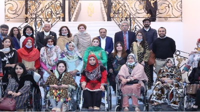 Power to Persuade alumnae at STEP Policy Dialogue conducted in Lahore on February 9, 2021.