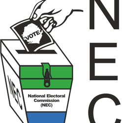 Logo of the National Elections Commission Sierra Leone