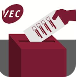 hand putting casting ballot