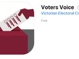 Voters Voice App by the Victorian Electoral Commission