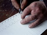 Tactile ballot guide