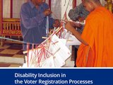 Disability Inclusion in the Voter Registration Process