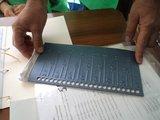 Tactile ballot guide