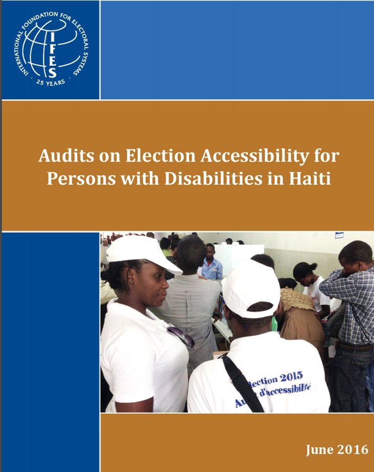 Audits on Election Accessibility for Persons with Disabilities in Haiti