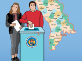 Easy-to-Read Election Guide in Moldova