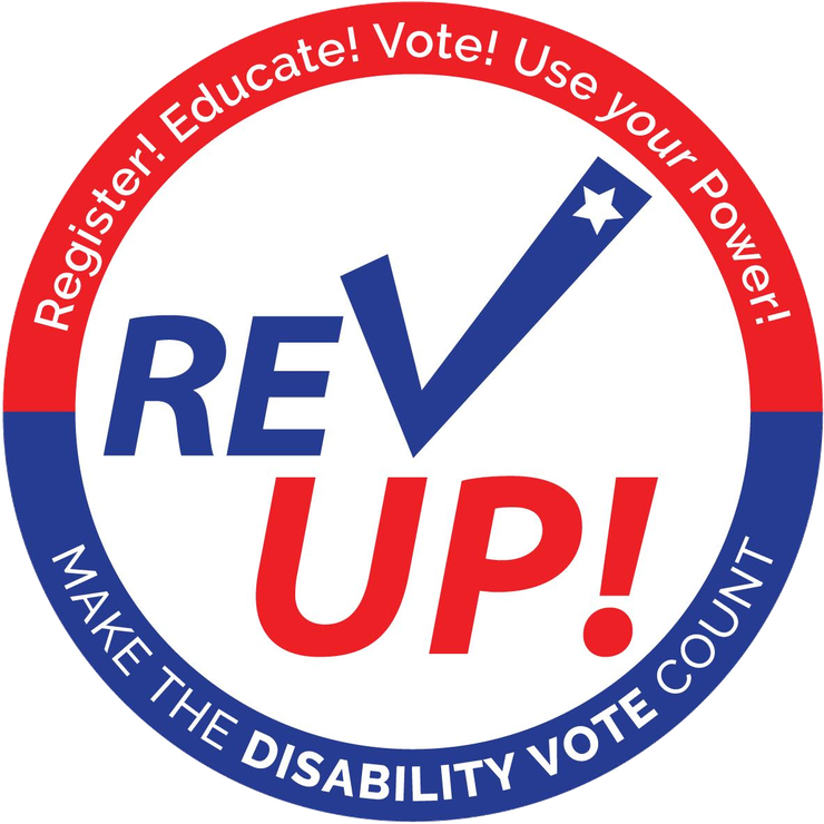 Logo of the RevUp! campaign
