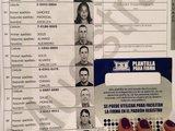 Guide to facilitate voter's signature
