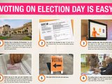 Voting on Election Day is Easy