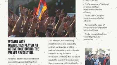 Cover of the Inclusive Velvet Revolution document