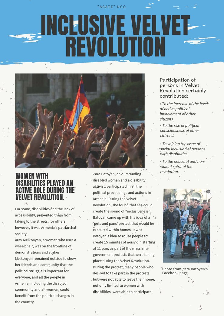 Cover of the Inclusive Velvet Revolution document