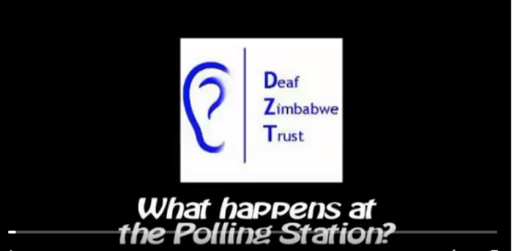 Deaf Zimbabwe Trust's logo