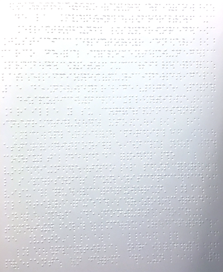 braille sheet