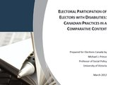 Electoral Participation of Electors with Disabilities: Canadian Practices