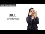 Election Vocabulary in Singapore Sign Language