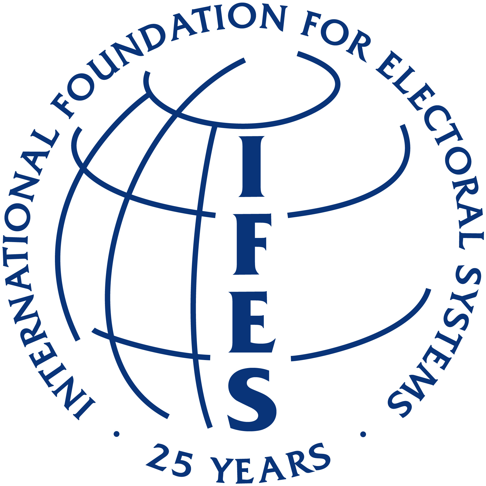Logo for the International Foundation for Electoral Systems (IFES)