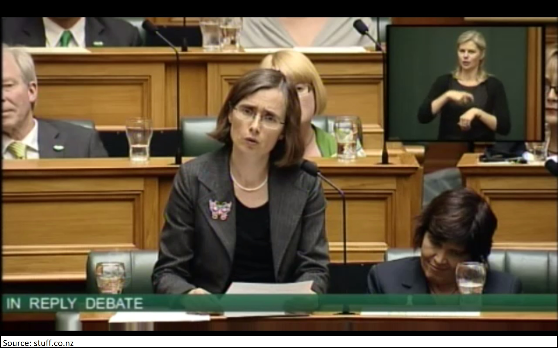 Member of Parliament Mojo Mathers delivers her first speech in New Zealand's parliament.